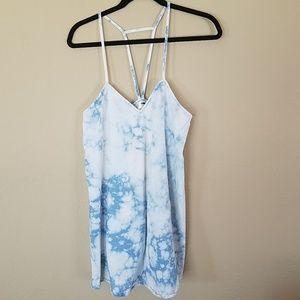 Rumor Boutique bleach wash jean dress